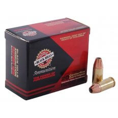 Black Hills 9mm Luger +P 124 Gr. Jacketed Hollow Point- Box of 20