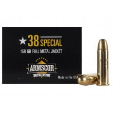 Armscor .38 Special 158 Gr. Full Metal Jacket- Box of 50