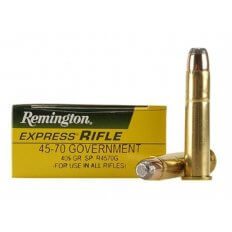 Remington Express .45-70 Government 405 Gr. Jacketed Soft Point- Box of 20