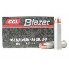 CCI Blazer .357 Magnum 158 Gr. Jacketed Hollow Point- Box of 50