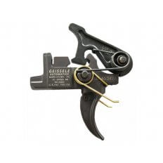 """Geissele Hi-Speed Match Universal Rifle Adjustable Trigger Group AR-15, LR-308 Small Pin .154"""" Two Stage- Matte"""