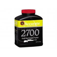 Accurate 2700 Smokeless Powder- 1 Lb. (HAZMAT Fee Required)