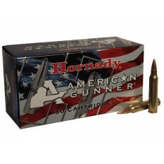 Hornady American Gunner .223 Remington 55 Gr. Hollow Point Boat Tail 80237
