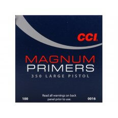 CCI Large Pistol Magnum Primers #350- Box of 1000 (HAZMAT Fee Required)