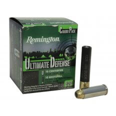 "Remington Ultimate Defense Combo Pack .45 Colt  230 Gr. Brass Jacketed Hollow Point and .410 2-1/2"" 000 Buckshot 4 Pellets HD45C410A"