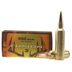 Federal Fusion .300 Winchester Short Magnum (WSM) 165 Gr. Spitzer Boat Tail- Box of 20