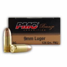 PMC Bronze 9mm 124 Gr. Full Metal Jacket 9G