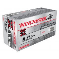Winchester Super-X .32-20 WCF 100 Gr. Lead Flat Nose- Box of 50