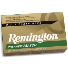 Remington Premier Match 6.5 Creedmoor 140 Gr. Sierra MatchKing Hollow Point Boat Tail- RM65CRD