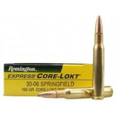 Remington Express .30-06 Springfield 165 Gr. Core-Lokt Pointed Soft Point- Box of 20
