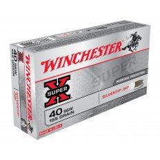 Winchester Super-X .40 S&W 155 Gr. Silvertip Hollow Point X40SWSTHP
