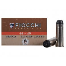 Fiocchi Cowboy Action .44-40 WCF 210 Gr. Lead Round Nose Flat Point 4440CA