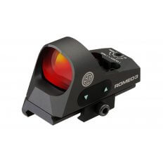SIG SAUER ROMEO3 1x25mm Reflex Sight 3 MOA Red Dot with M1913 Riser SOR31002