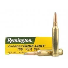 Remington Express 7mm Remington Magnum 175 Gr. Core-Lokt Pointed Soft Point- Box of 20