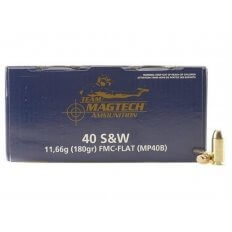 Magtech Sport Ammunition 40 S&W 180 Gr. FMJ- Box of 250