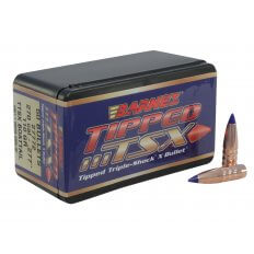 Barnes Bullets .270 Caliber (.277 Diameter) 110 Gr. Tipped Triple-Shock X Spitzer Boat Tail- Lead-Free 30274