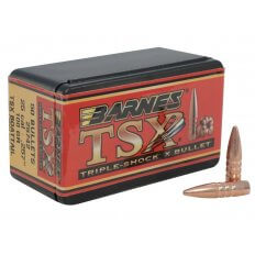 Barnes Bullets .25 Caliber (.257 Diameter) 100 Gr. TSX Hollow Point Boat Tail- Lead-Free- Box of 50