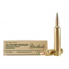 Weatherby .30-378 Weatherby Magnum 165 Gr. Nosler Ballistic Tip- Box of 20