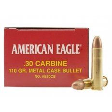 Federal American Eagle .30 Carbine 110 Gr. FMJ- Box of 50