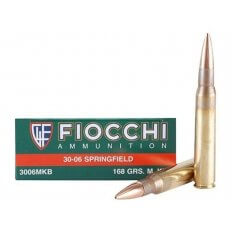 Fiocchi Exacta .30-06 Springfield 168 Gr. Sierra MatchKing Hollow Point- Box of 20