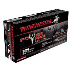 Winchester Power Max Bonded .325 Winchester Short Magnum (WSM) 220 Gr. Protected Hollow Point- Box of 20