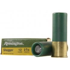 "Remington Slugger 12 Gauge 2-3/4"" 1 oz Rifled Slug- Box of 5"