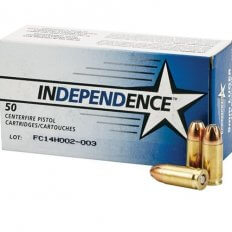 Independence 9mm Luger 115 Gr. JHP- Box of 50