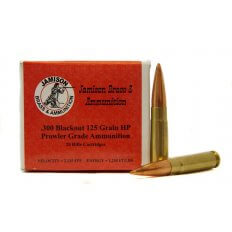 Jamison Prowler Grade .300 AAC Blackout 125 Gr. Hollow Point- Box of 20