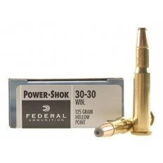 Federal Power-Shok .30-30 Winchester 125 Gr. Jacketed Hollow Point- Box of 20