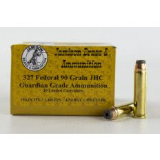 Jamison Guardian Grade .327 Federal Magnum 90 Gr. Jacketed Hollow Core- Box of 20