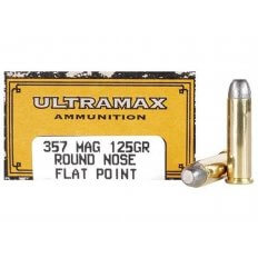 Ultramax Cowboy Action .357 Magnum 125 Gr. Lead Flat Nose- Box of 50