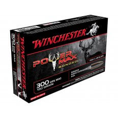 Winchester Power Max Bonded .300 Winchester Magnum 150 Gr. Protected Hollow Point X30WM1BP
