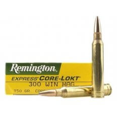 Remington Express .300 Winchester Magnum 150 Gr. Core-Lokt Pointed Soft Point- Box of 20