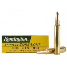 Remington Express .300 Winchester Magnum 180 Gr. Core-Lokt Pointed Soft Point- Box of 20
