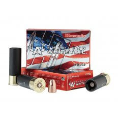 "Hornady American Whitetail 12 Gauge 2-3/4"" 325 Gr. Interlock Hollow Point Sabot Slug- Box of 5"