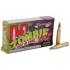 Hornady Zombie Max .223 Remington 55 Gr. Z-Max- Box of 20