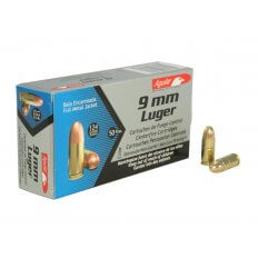 Aguila 9mm Luger 124 Gr. Full Metal Jacket- Box of 50