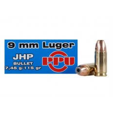 Prvi Partizan 9mm Luger 115 Gr. JHP- Box of 50