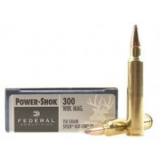 Federal Power-Shok .300 Winchester Magnum 150 Gr. Speer Hot-Cor Soft Point 300WGS
