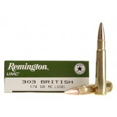 Remington UMC .303 British 174 Gr. Full Metal Jacket L303B1