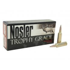 Nosler Trophy Grade .270 Winchester Short Magnum (WSM) 150 Gr. AccuBond Long Range- Box of 20