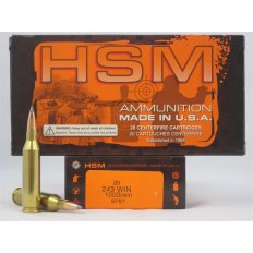 HSM Factory Blemish .243 Winchester 100 Gr. Soft Point Boat Tail