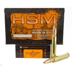 HSM .300 Weatherby 180 Gr. Soft Point Boat Tail- Box of 20
