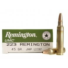 Remington UMC .223 Remington 45 Gr. Jacketed Hollow Point- Box of 20