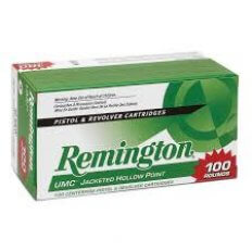 Remington UMC 9mm Luger 115 Gr. JHP- Value Pack of 100
