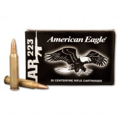 Federal American Eagle .223 Remington 55 Gr. FMJ- Box of 20