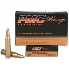 PMC Bronze .223 Remington 55 Gr. FMJBT 223A