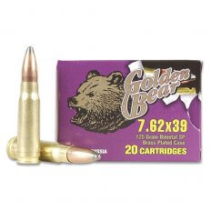 Golden Bear 7.62x39 125 Gr. SP (Bi-Metal)- Case of 500