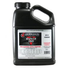 Hodgdon Hybrid 100V Smokeless Powder- 8 Lbs. (HAZMAT Fee Required)