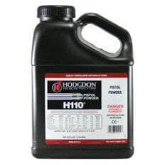 Hodgdon H110 Smokeless Powder- 8 Lbs. (HAZMAT Fee Required)